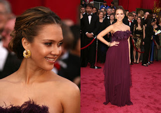 JessicaAlba Oscars 2008 Red Carpet Recap