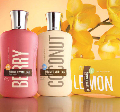 Bath and body hands soap bath body works summer vanillas collection
