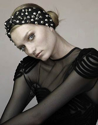 Jennifer+Behr+Spiked+Turban+Headwrap Jennifer Behr Online Trunk Show & Sale