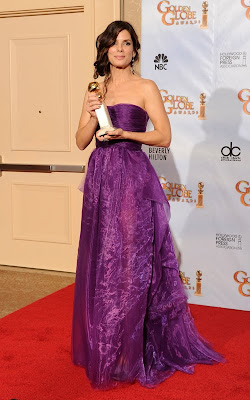 sandra+bullock+2010+golden+globes Golden Globes Gorgeous 2010: Sandra Bullock