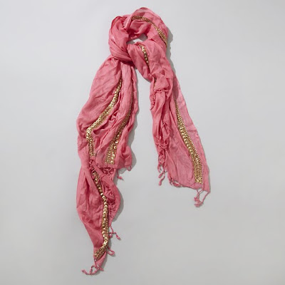 raj+gold+bead+scarf Raj Imports Scarf Sale at Ideeli   Get On This!