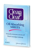 cleanclear oilabsorbingsheets enlarge In The Bag Summer Beauty Giveaway: Gym Bag