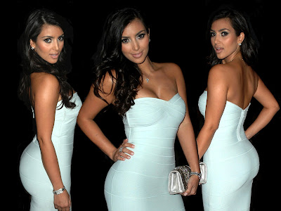 Yesterday on her blog, Kim Kardashian answered some tanning questions.
