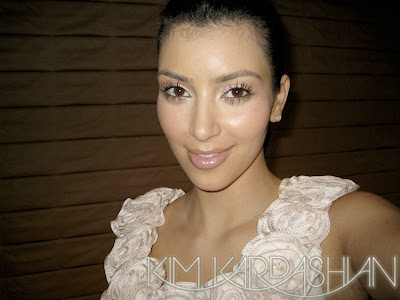 kim kardashian no makeup blonde. Kim Kardashian Makeup Tutorial