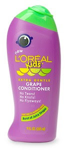 loreal+grape+conditioner Danielle Fishel Dishes On Her Shampoo Commercial Hair: Grape Children's Conditioner?