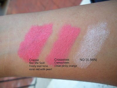 mac+crazee+crosswires+no16 MAC Ungaro, Cremesheen and Holiday Swatches