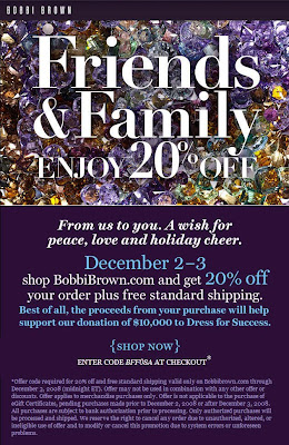 bb+ff Bobbi Brown: Friends & Family