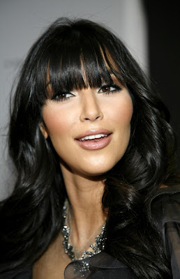 Kardashian  Bangs on Kim Kardashian Bangs 6 Jpg