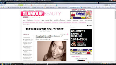 Spoiled+Pretty+on+Glamour The Glamorous Life: Spoiled Pretty Featured on Glamour.com!