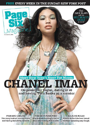chanel+ima+page+six Chanel Iman Talks To Page Six Magazine About Diversity   Or Rather A Lack Thereof