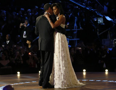"michelle gown2 Jason Wu Calls Michelle Obamas Choice of His Dress ""Thrilling, Emotional and Inspiring"""