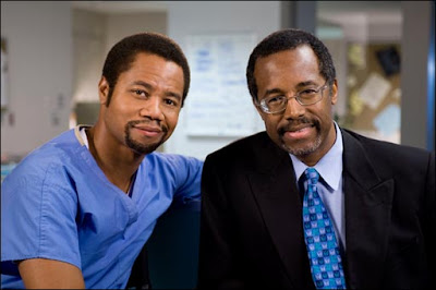 cuba+gooding+jr+and+ben+carson Gifted Hands