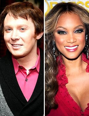 clay+and+tyra Why Is Clay Aiken Judging Americas Next Top Model?