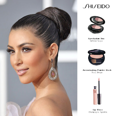 kim+kardashian+grammys Kim Kardashians Red Carpet Makeup Essentials