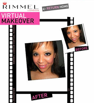 rimmel+makeover Rimmel Londons New and Improved Virtual Makeover Tool