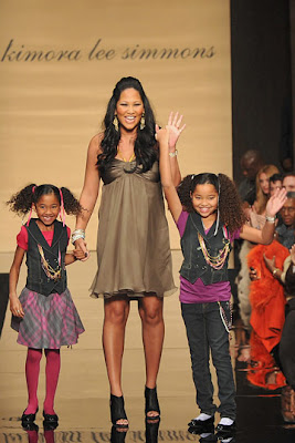 aoki+kimora+and+ming New York Fashion Week: Baby Phat, Fall 2009