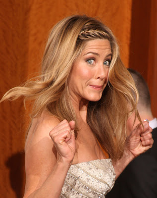 jennifer+aniston+oscars+2009+braid Oscars 2009 Beauty: Jennifer Aniston