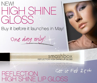 smashbox+high+shine+lip+gloss New Smashbox Lip Gloss   Get It Months Before It Hits Stores!