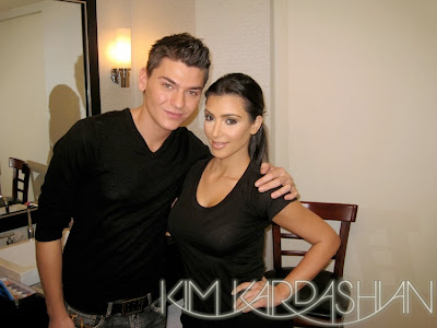 mario+and+kim++kardashian Kim Kardashian Vegas Magazine How To Makeup Video: Part 2
