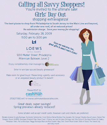 cashman+and+associates+girls+day+out Philly Girls' Day Out: Super Savings in a Slow Economy
