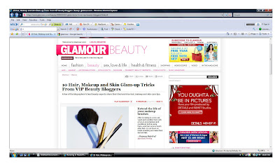 glamour+beauty+blogger+vip According To Glamour Magazine, Im a VIP Beauty Blogger!