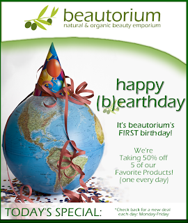 beautorium Happy (B)earth Day, Beautorium!
