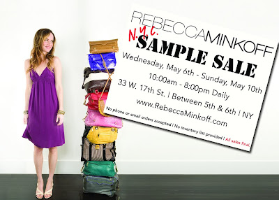 rebecca+minkoff+sample+sale Rebecca Minkoff Sample Sale May 6 10 in NYC!