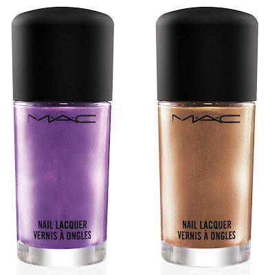 mac+nail+lacquer O My Goodness: Coolest Trick With MACs Style Warrior Nail Lacquers!