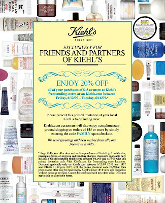 kiehls+friends+and+family Kiehls Friends & Family: Take 20% Off 6/12   6/16