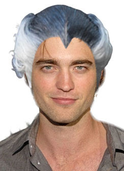 robert+pattinson+dracula+hair Robert Pattinson: Is His Hotness In The Hair?