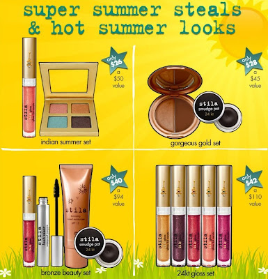 stila+summer+specials Hot Fun In The Summertime With Stila