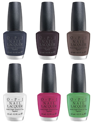 OPI+Matte+Collection OPI Matte Collection for Fall 2009