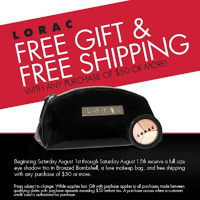  LORAC Gift With Purchase, Plus Free Shipping