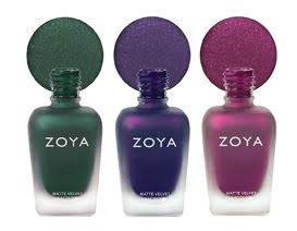 zoya+mattevelvet New Shades Added To Zoya MatteVelvet Collection