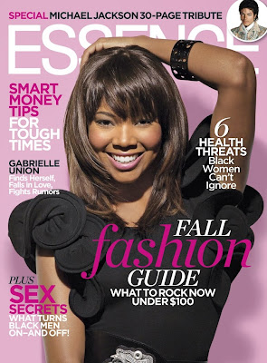 gabrielle+union+essence A More Perfect Union: Gabrielle Graces Essence Magazines September Cover