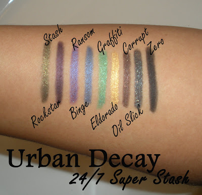 Urban Decay 24 7 Super Stash Phantastic Products Inspired by the 2009 World Series