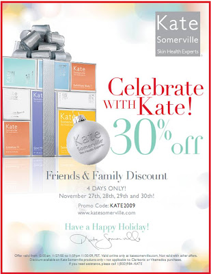 kate+somerville+friends+and+family Kate Somerville Friends & Family: Take 30% Off!