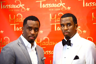 diddy+madame+tussauds Diddys New Wax Figure Even Smells Like Him!