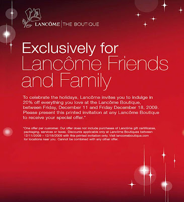 lancome+friends+and+family Lancôme Friends & Family: Treat Yourself to 20% Off