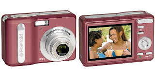polaroid+7mp+digital+camera+i733+pink Winner of the Clean &amp; Clear Giveaway