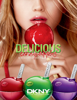 dkny+delicious+candy+apples DKNY Delicious Candy Apples Fragrance Collection