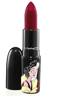 VenomousVillains Cruella Lipstick Heartless 300 MAC Venomous Villains