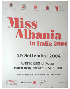 Gentjana Totraku Miss Albania 2004