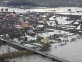 Emergenza inondazioni in Albania