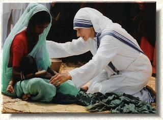 Madre Teresa nei francobolli americani