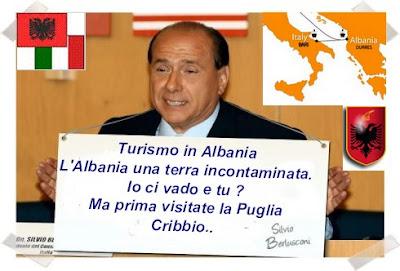 Berlusconi promuove l'Albania e la Puglia