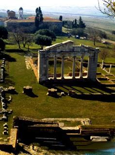 Apollonia.I' importante centro archeologico dell'Albania