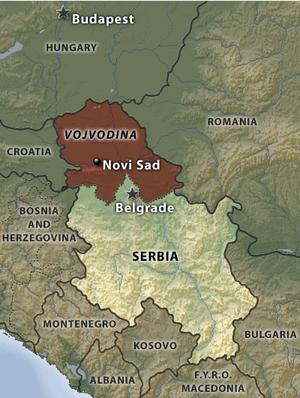 La Provincia Autonoma della Vojvodina