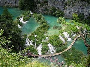 Parco Nazionale laghi di Plitvice in Croazia