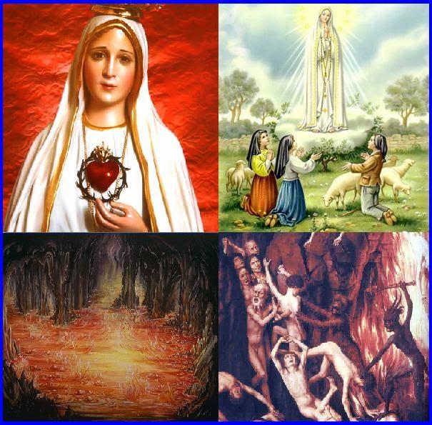 Bem Vindos Ao Inferno Elenco: NOVÍSSIMOS DO HOMEM: A Virgem Santíssima E O Inferno
